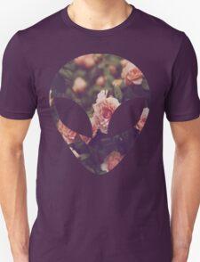 Alien -  Floral Unisex T-Shirt