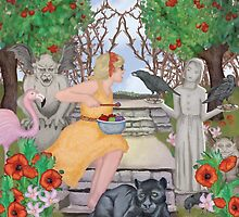 In the Garden by Kim  Harris