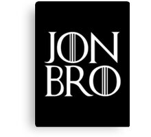 Jon Bro Canvas Print