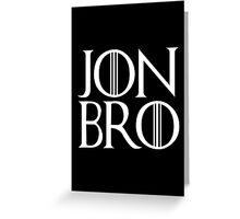 Jon Bro Greeting Card