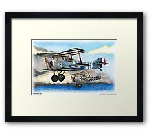 Painted Pups Framed Print