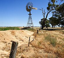 Windmill at Cobram by Darren Stones