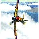 Color Penciled Aircraft by Trenton Hill
