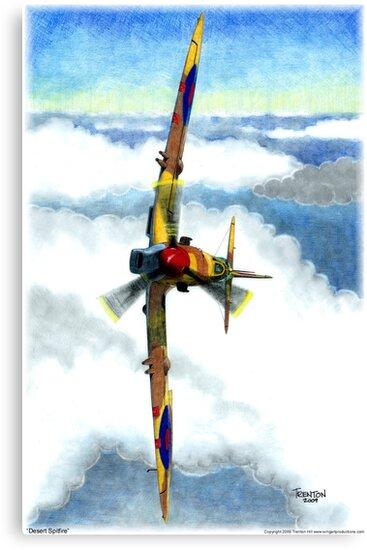 Desert Spitfire by Trenton Hill