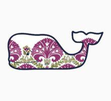 Vineyard Vines Whale Flowery Print by Csturges07