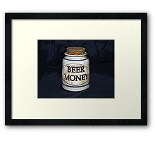 Beer Money Framed Print