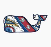 Vineyard Vines Whale Colorful Pattern by Csturges07