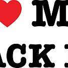 I Heart My Black Lab by imaginarystory
