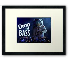 Drop the Bass Framed Print