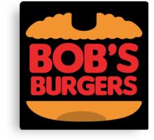 Bob's Burger King Canvas Print