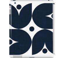 the tulips - navy iPad Case/Skin