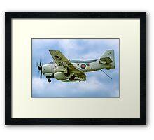Fairey Gannet AEW.3 XL502 G-BMYP Framed Print
