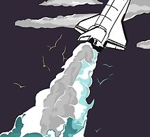 Space Shuttle - Poster by CallumGardiner
