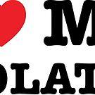 I Heart My Chocolate Lab by imaginarystory
