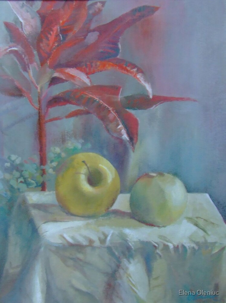 Two apples by Elena Oleniuc