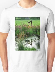 Harp with Pond Unisex T-Shirt