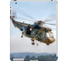 Sea King Helicopter iPad Case/Skin