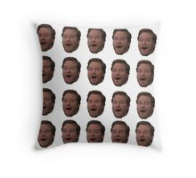 Andy Dwyer (floating head) Throw Pillow