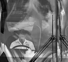 The bus driver by awefaul