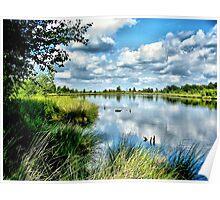 Summerlake Skyreflections Poster
