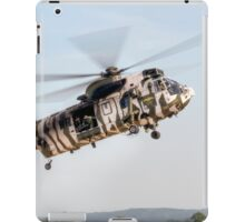Sea King and Apache Helicopters iPad Case/Skin