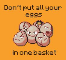 Exeggcute #102 - Don't put all your eggs in one Basket! by NumberIX
