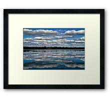 Lake Kenyan, Victoria. Framed Print