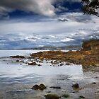 Drip Beach Rocks by Chris Cobern