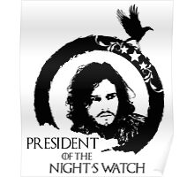 Jon Snow for President Poster