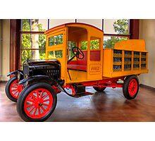 Model T Coca-Cola Delivery Truck Photographic Print