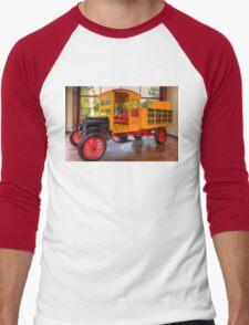 Model T Coca-Cola Delivery Truck Men's Baseball ¾ T-Shirt