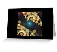 Abstract of Shapes Greeting Card