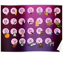 Alphabets Poster