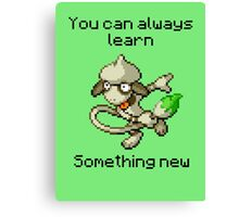 Smeargle #235 - You can always learn something new Canvas Print