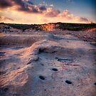 Sunset on the Rocks HDR by Jakov Cordina