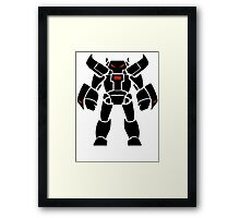 Fightbot 9000 Framed Print