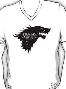 Exams are coming - Black T-Shirt