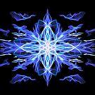 Energetic Geometry - Air Element  by Leah McNeir