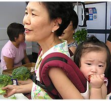 Market day Photographic Print