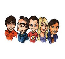 Big Bang Cast by Morgan Green