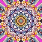 Abstract Concentric Mandala by Phil Perkins