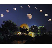Lunar Eclipse Mosaic Photographic Print