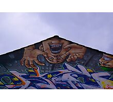 Street Art - North Laines - Brighton Photographic Print