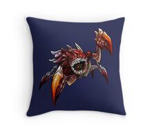 The Devil in the Dark Throw Pillow