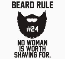Beard Rule #24 by jephrey88
