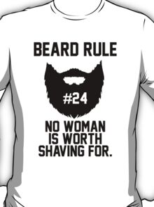 Beard Rule #24 T-Shirt