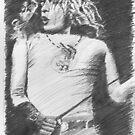 Robert Plant by Simon Aberle
