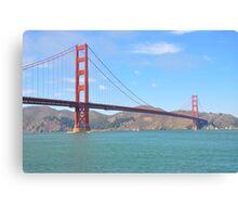 Golden Gate California Canvas Print