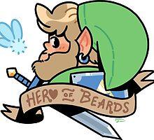 Hero of Beards by Drew Green