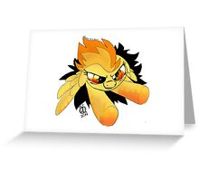 SpitFire Breaks the Fourth Wall! Greeting Card